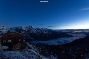 Sunrise at Edelweissspitze